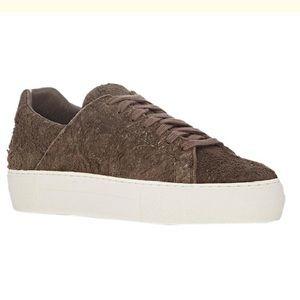 New Helmut Lan Suede Leather Low Top Sneaker